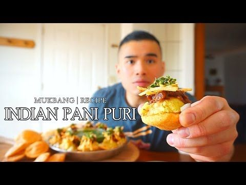 10 indian pani puri mukbang recipe qt youtube paani puri 10 indian pani puri mukbang recipe qt youtube forumfinder Image collections