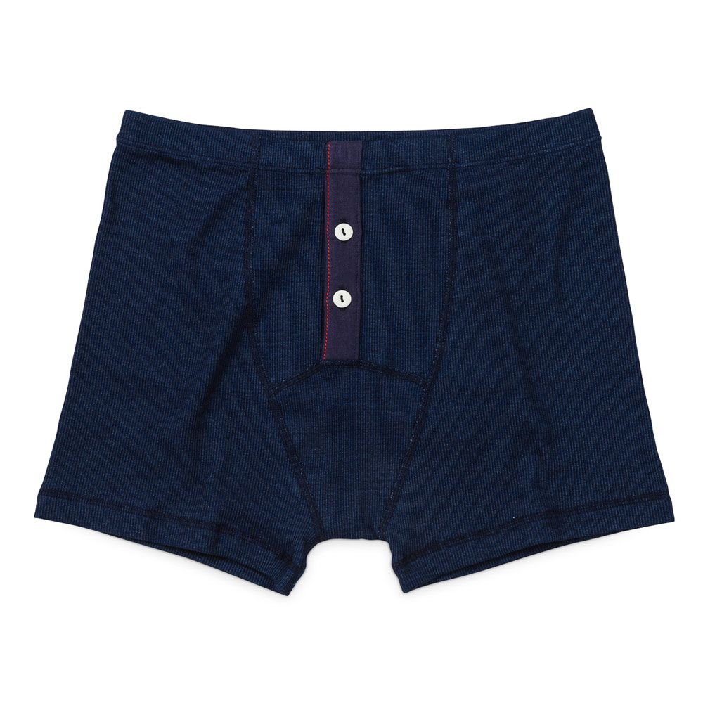 Boxer made with the best cotton rib 2×2 jersey