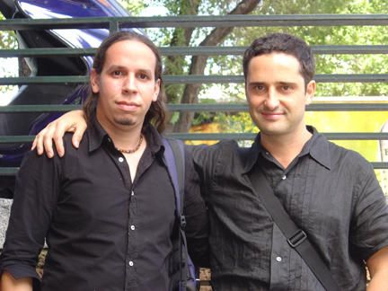 Con Jorge, en Madrid.