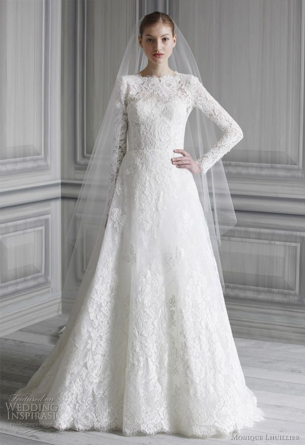 Monique Lhuillier Wedding Dresses Spring 2012 Bridal Collection I