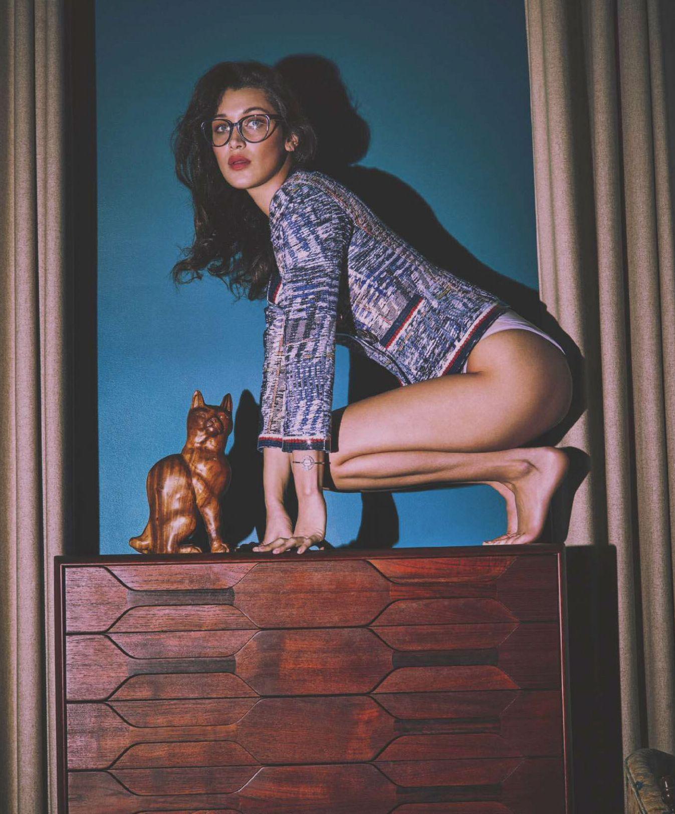 Bella Hadid by Guy Aroch for Harper's Bazaar Spain April 2016