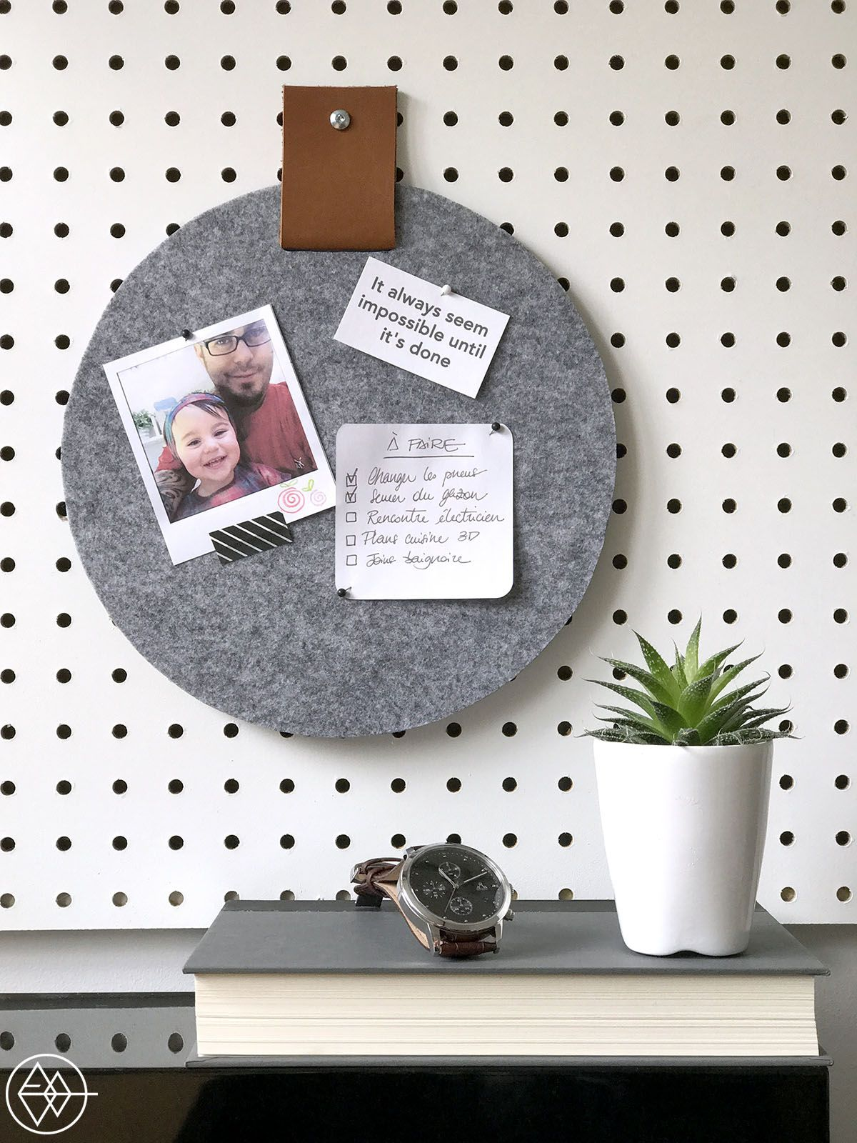 DIY pinboard | DIY | Pinterest