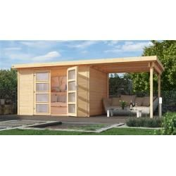 Flat roof garden houses