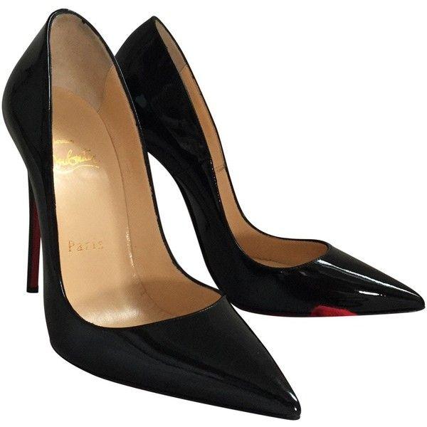 Pre-owned - Black Heels Christian Louboutin LwzPFbXy