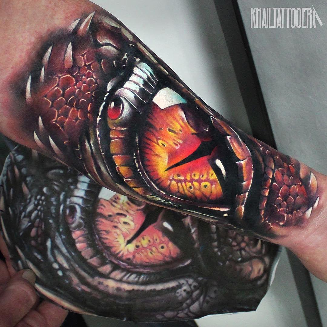 Dragon S Eye Forearm Tattoo Tattoo Forearm Tattoos Tattoos 3d