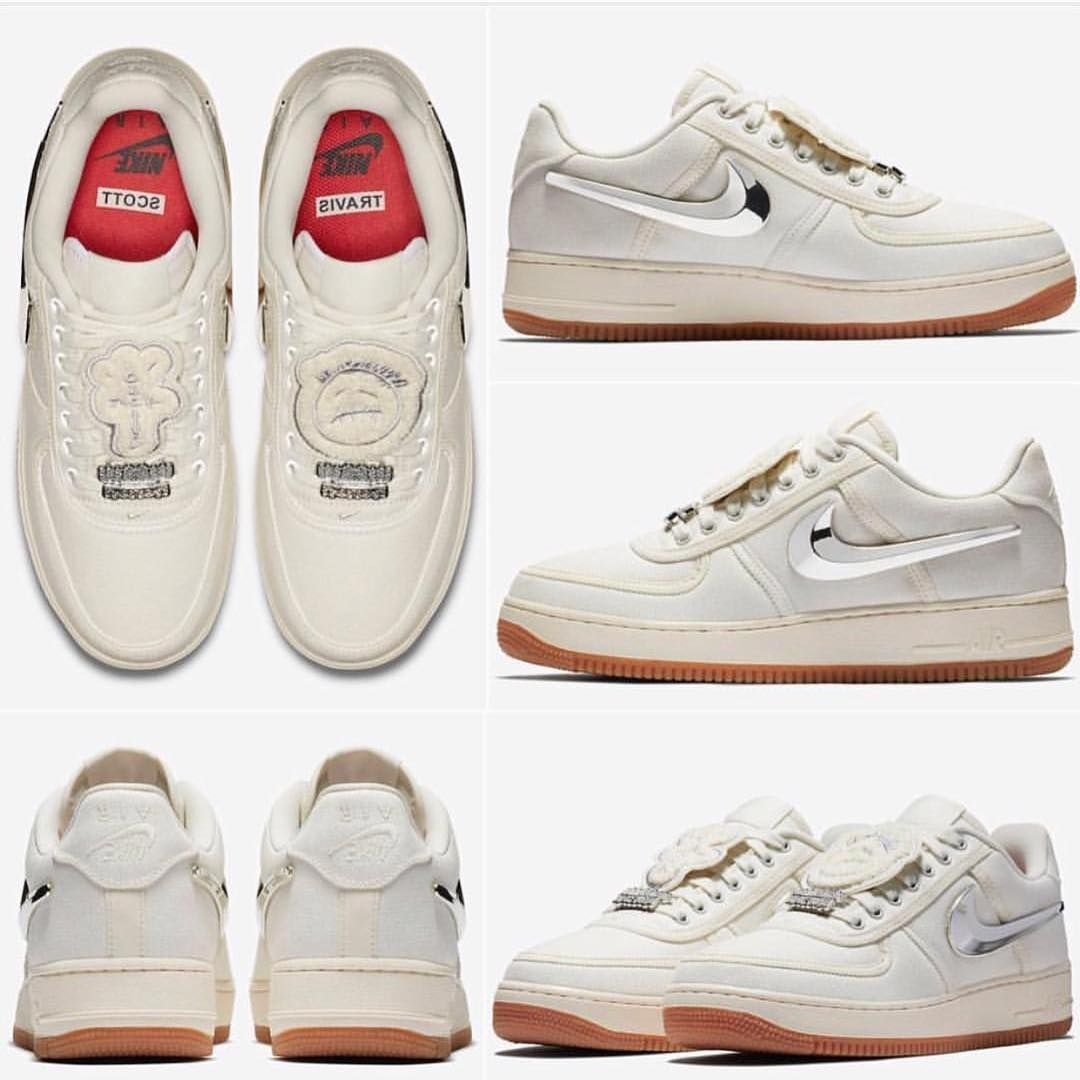 Nike Air Force 1 Travis Scott Dream Shoes Hype Shoes Travis