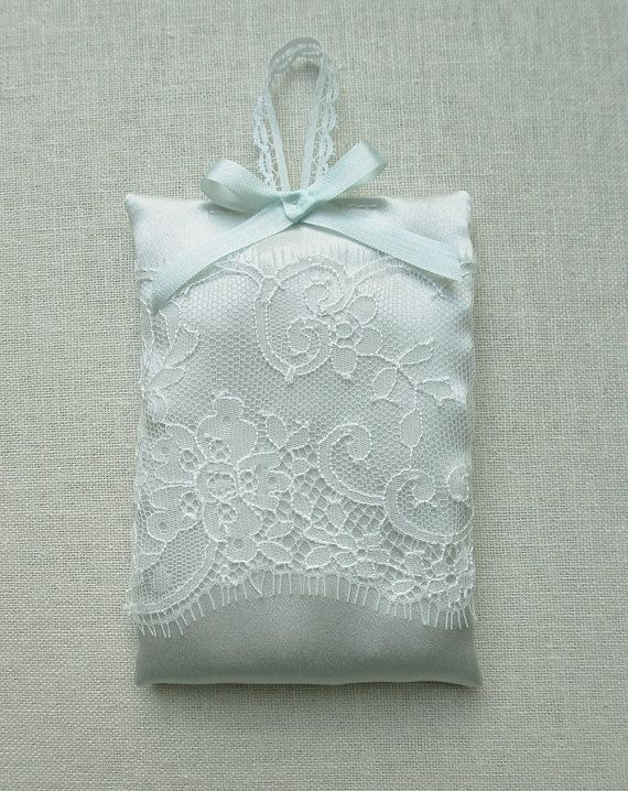 Couture Silk Lavender bag by florriemitton on Etsy