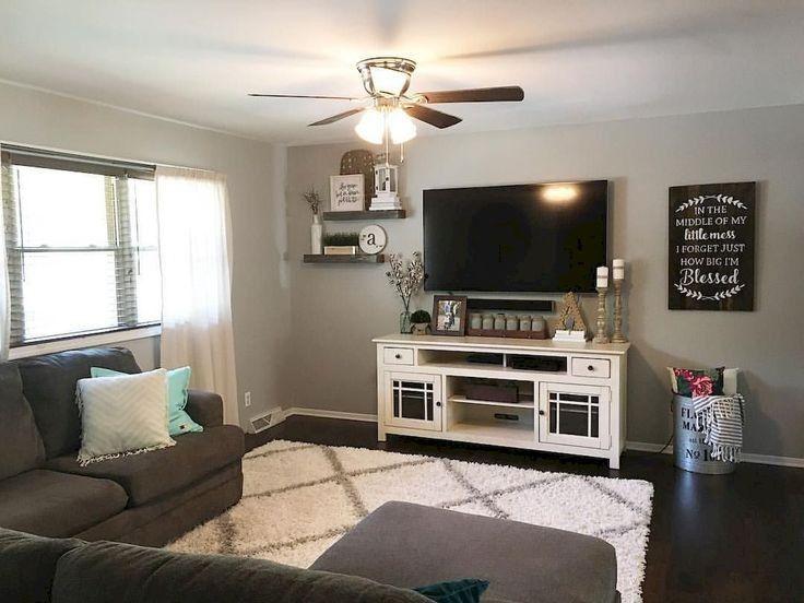 33 trick for cozy farmhouse decor living room 2 #livingroomdecor