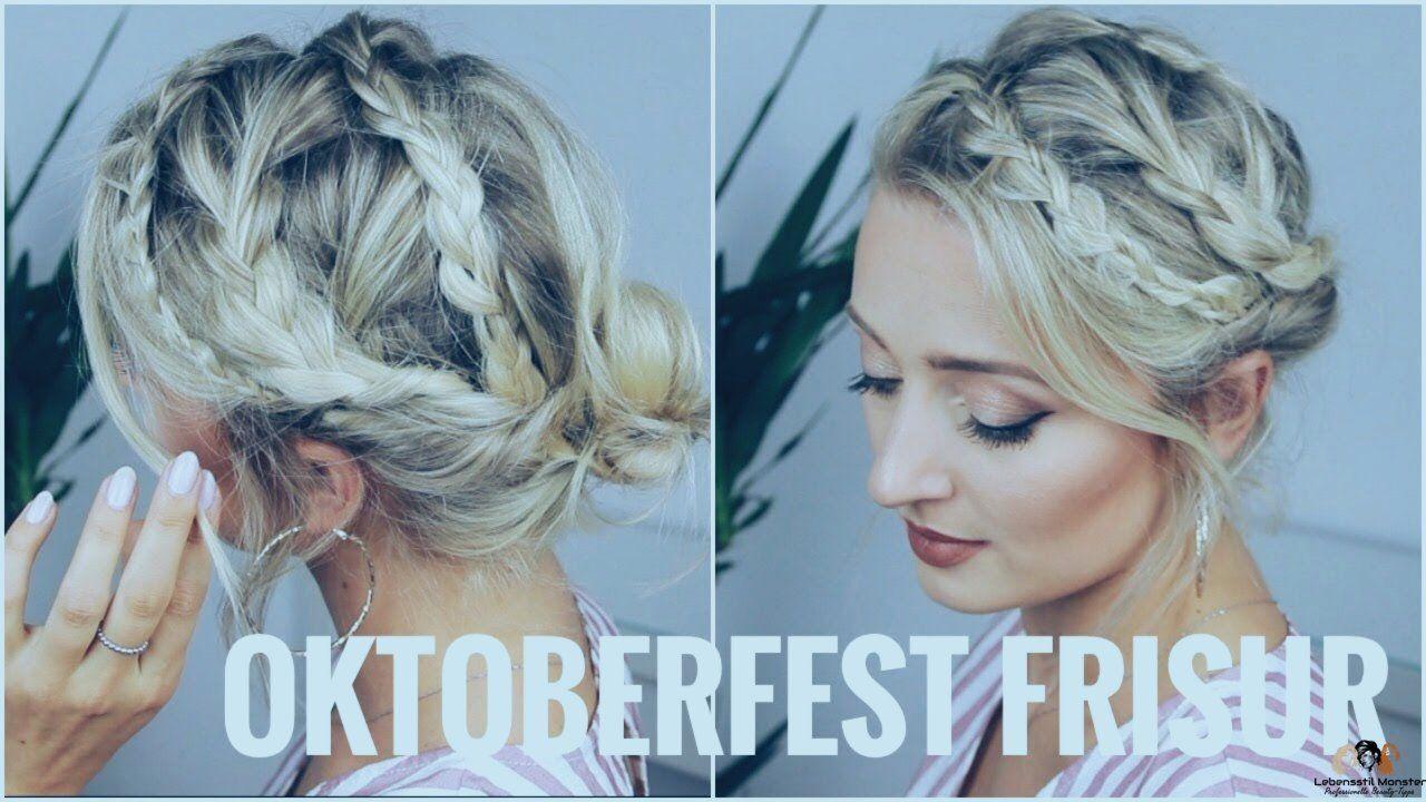 OKTOBERFEST FRISUR - sehr leicht, für kurze und lange Haare