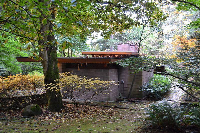 Frank Lloyd Wright S Barnes House Frank Lloyd Wright Usonian House Lloyd Wright