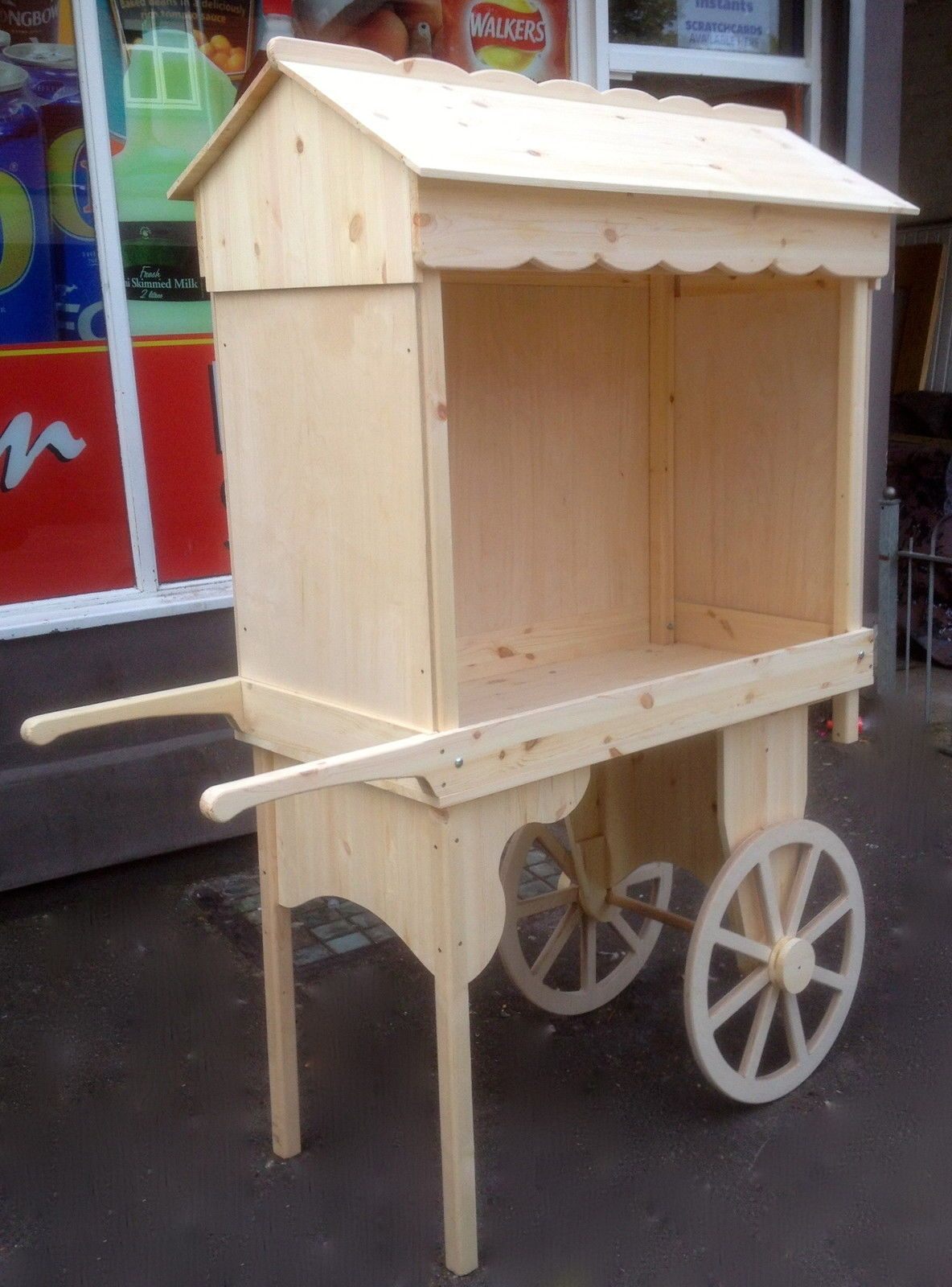 Retail S Barrow Stall Market Garden Wedding Candy Cart Display Counter