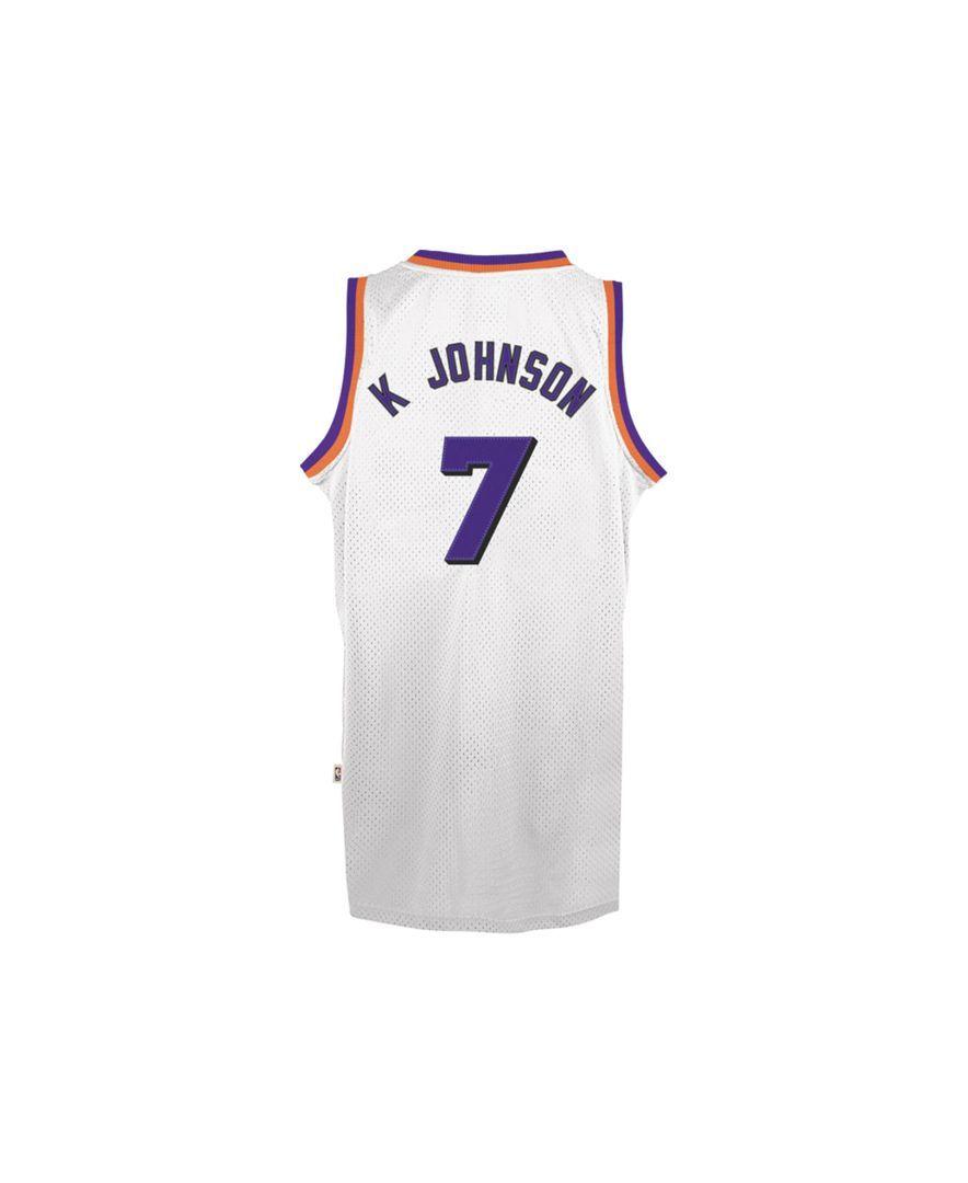promo code b8c45 dff7c adidas Men's Phoenix Suns Kevin Johnson Retired Player ...