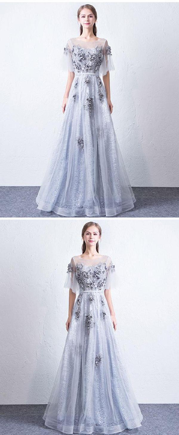 Prom dresses lace prom dresses long luu prom dresses
