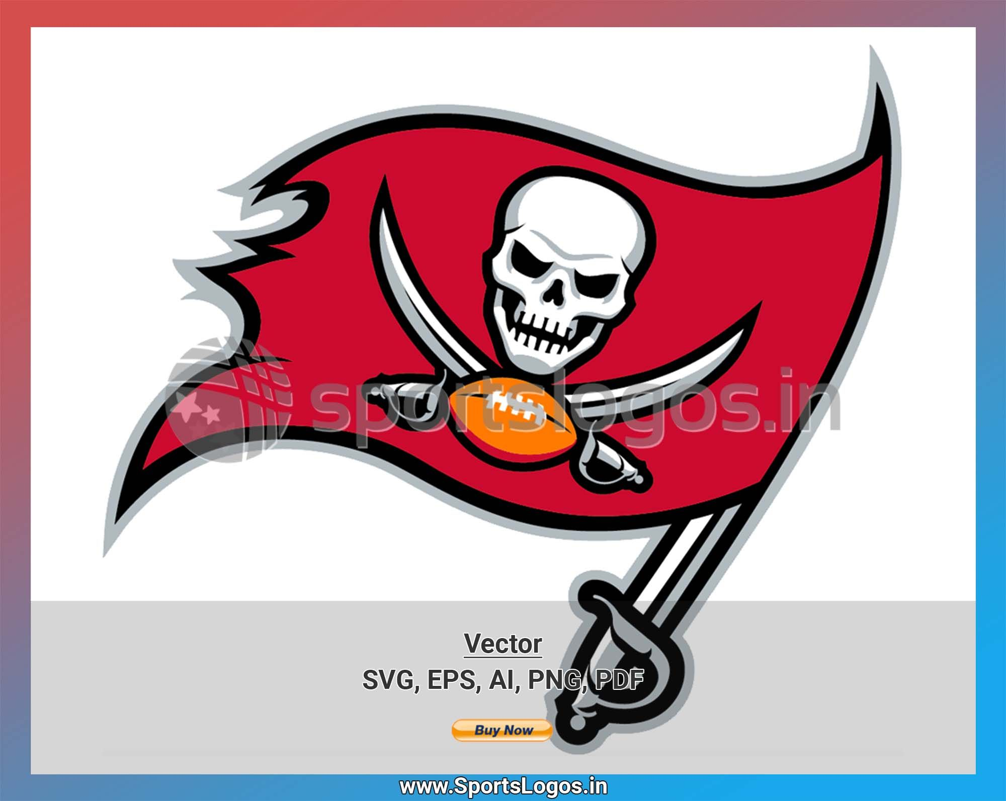 Tampa Bay Buccaneers Football Sports Vector Svg Logo In 5 Formats Spln004325 In 2020 National Football League National Football Buccaneers Football