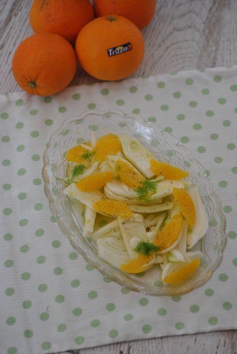 Insalata di finocchio e arance