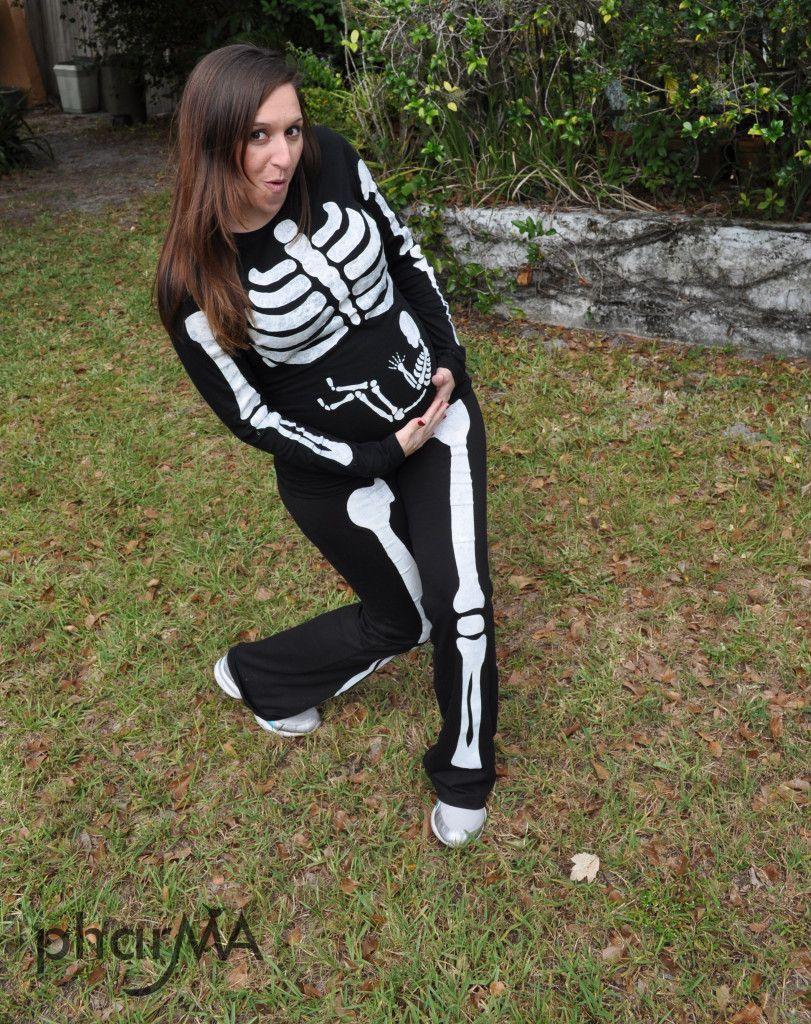 Pregnant Skeleton Costume Baby Stuff Diy Halloween