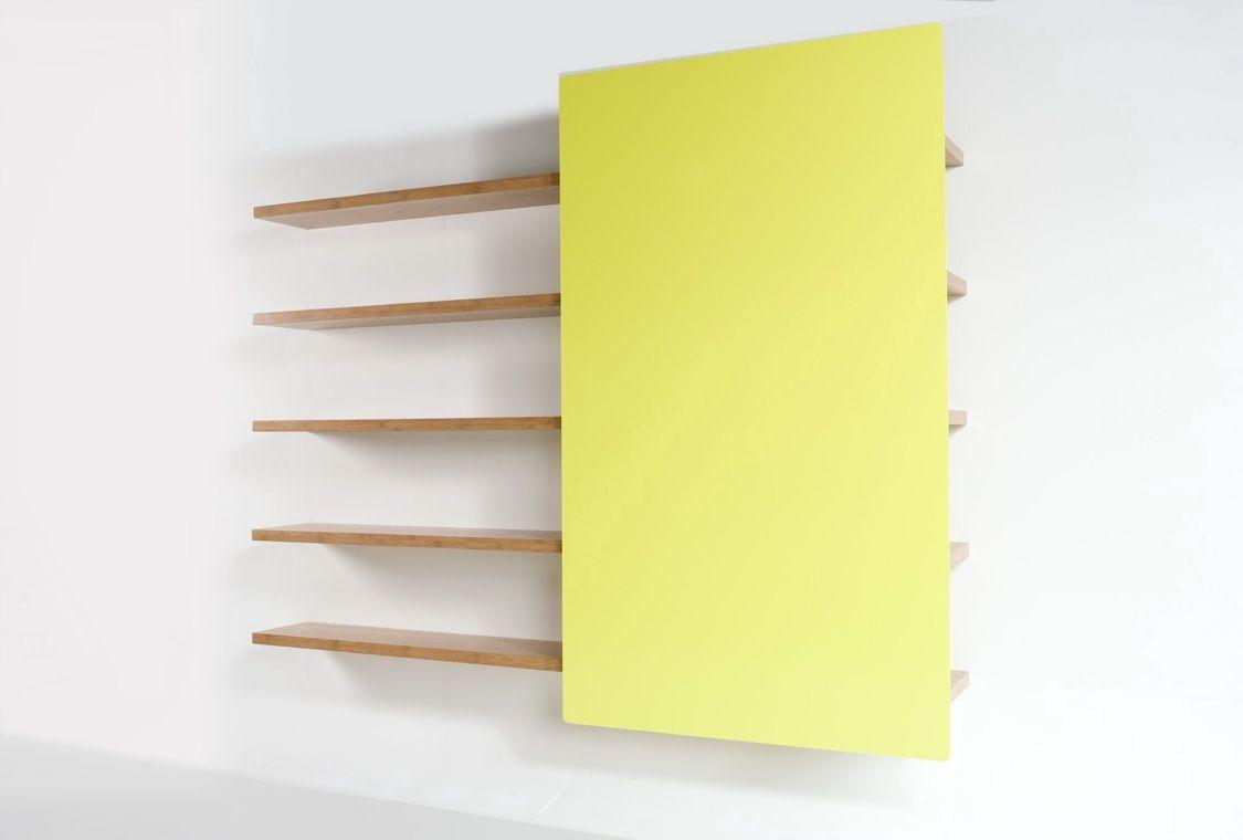 Libreria a scomparsa Wonderwall http://www.differentdesign.it ...