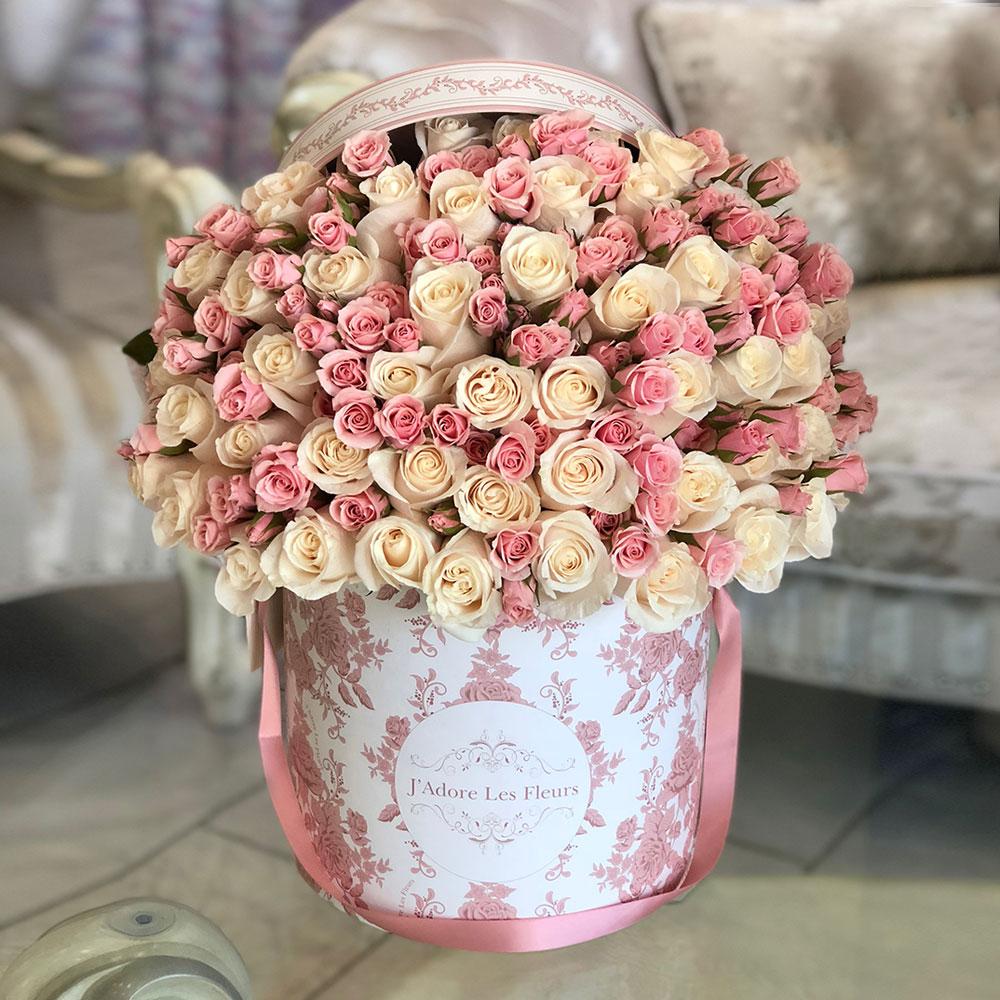 Rose Bloom JLF Los Angeles Boutique Blooming rose