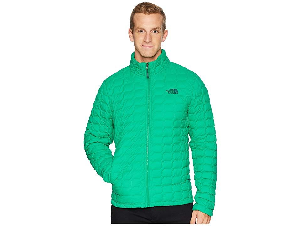 1957efbe9b The North Face ThermoBall Jacket (Primary Green Matte) Men's Coat ...