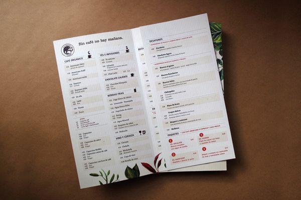 La Selva Café by Estudio Menta, via Behance
