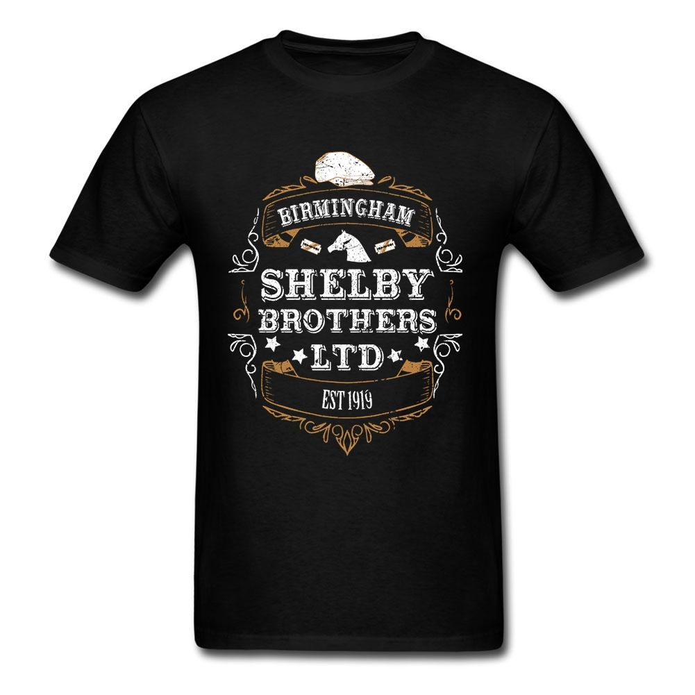 Pas cher Peaky Oeillères T Chemise À Manches Courtes Hommes Vêtements de  Pop Équipe Coton Ras Du Cou Plus La Taille TV 3d T Chemises, Acheter T- Shirts de ... 71be57f7b159