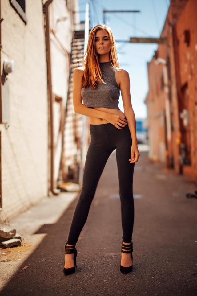 Bigcstyle Amberleigh West By Joey Newell Leggings