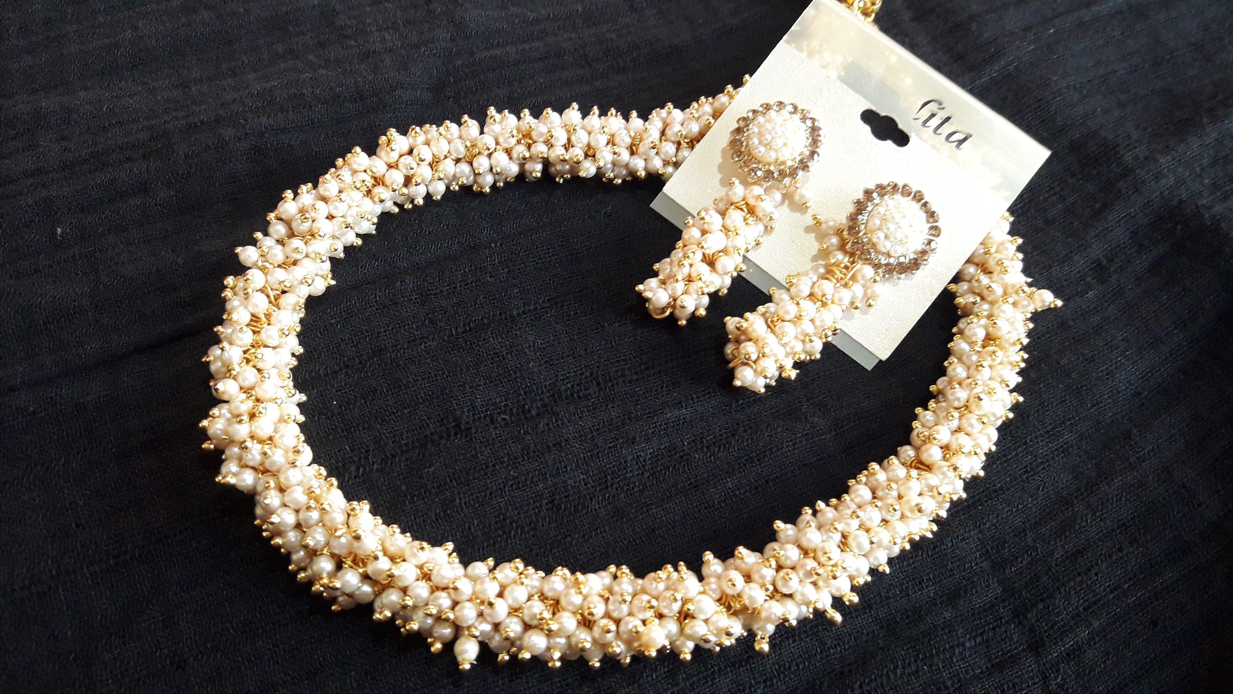 f654e81cbb #Prasadsilkthreadjewellery - #White #loreal #necklace #jewellery Thread  Jewellery, Silk Thread