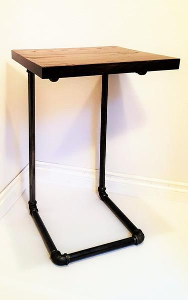 C Table High Quality Hand Crafted Ashwood Laptop Table