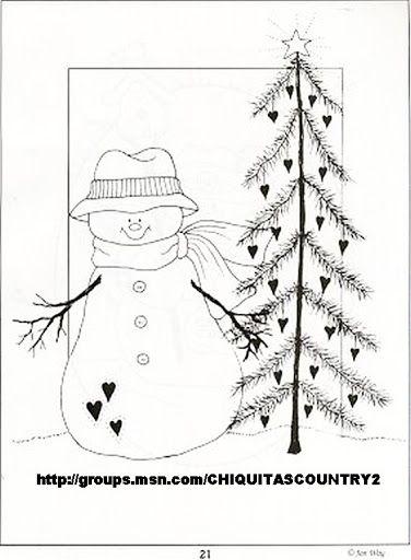 Christmas riscos bonecos neve - Crista Seibal - Álbumes web de Picasa