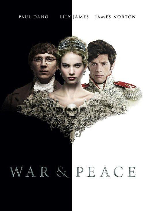 War And Peace Tv Mini Series Judy Garland Lily James Affiche De Film