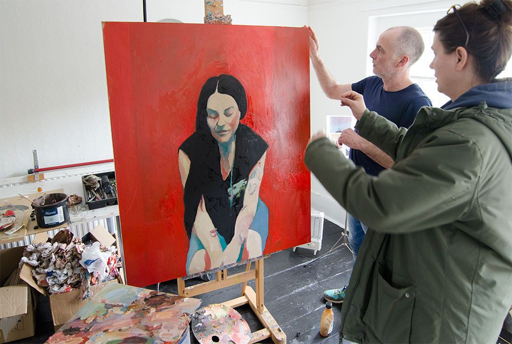 An interview with Paul Bell BBC Big Painting Challenge