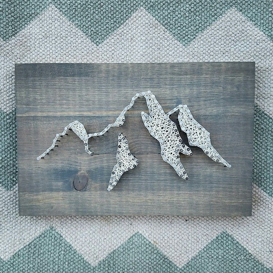 Mountain string and nail art show your love of the pnw mountain mountain string and nail art show your love of the pnw mountain art prinsesfo Choice Image