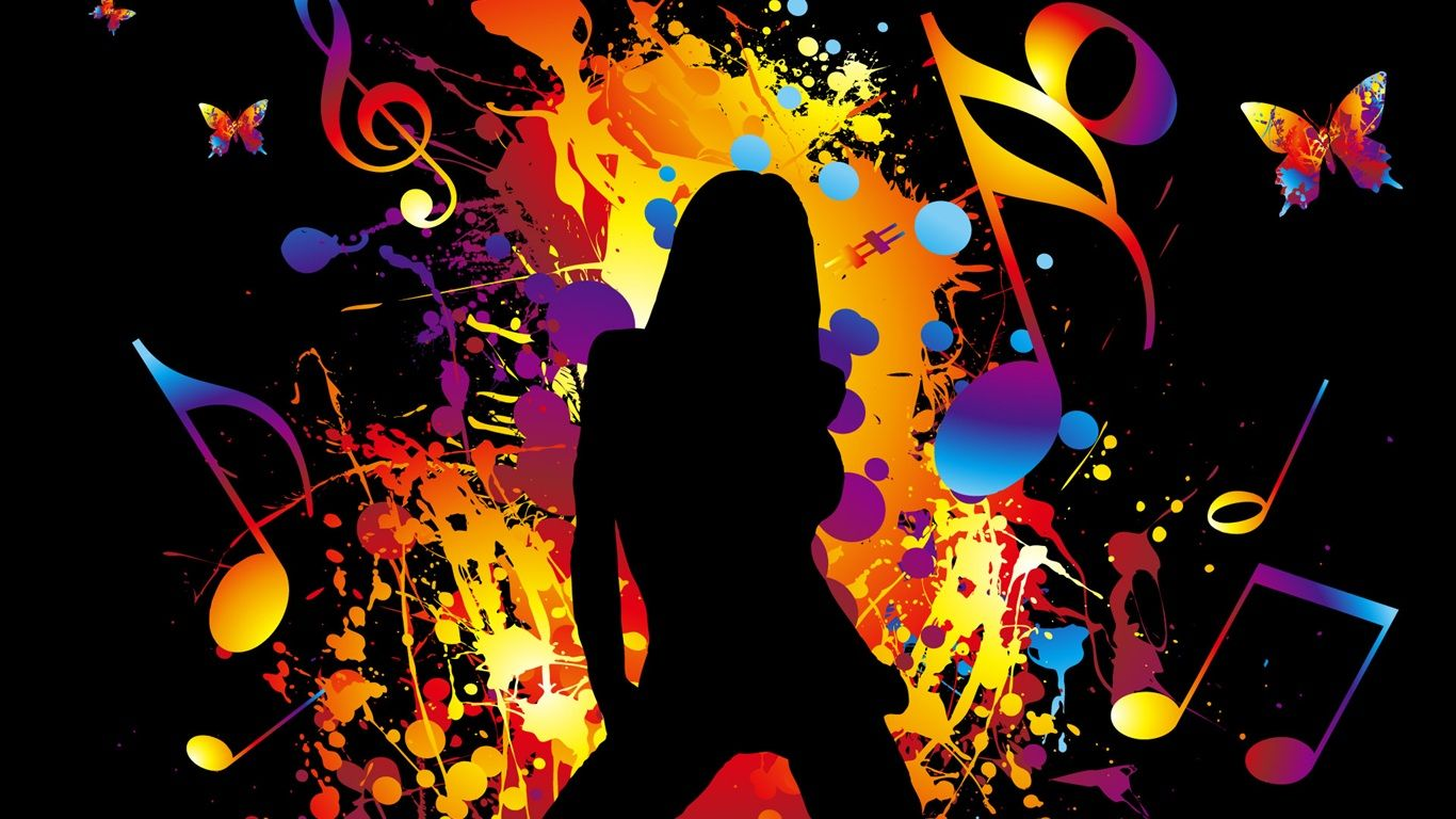I Love To Dance With Images Music Wallpaper Music Images