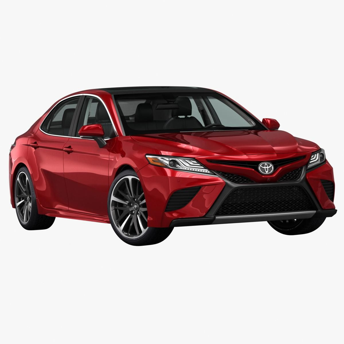 2018 toyota camry 3d model  ad   toyota model camry