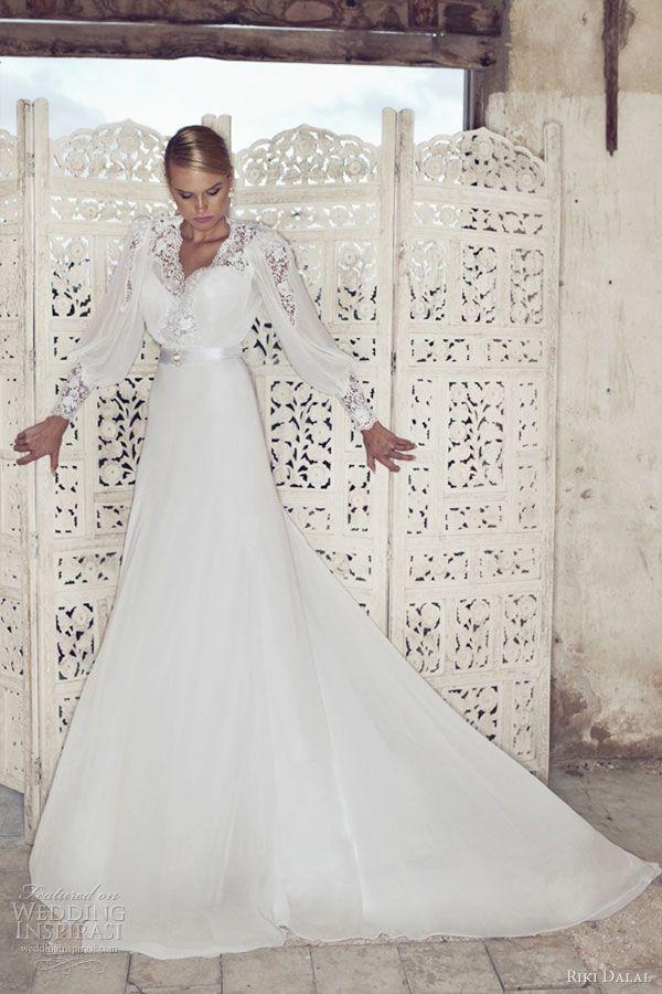 Riki Dalal Wedding Dresses 2013   Israeli wedding dress designer ...