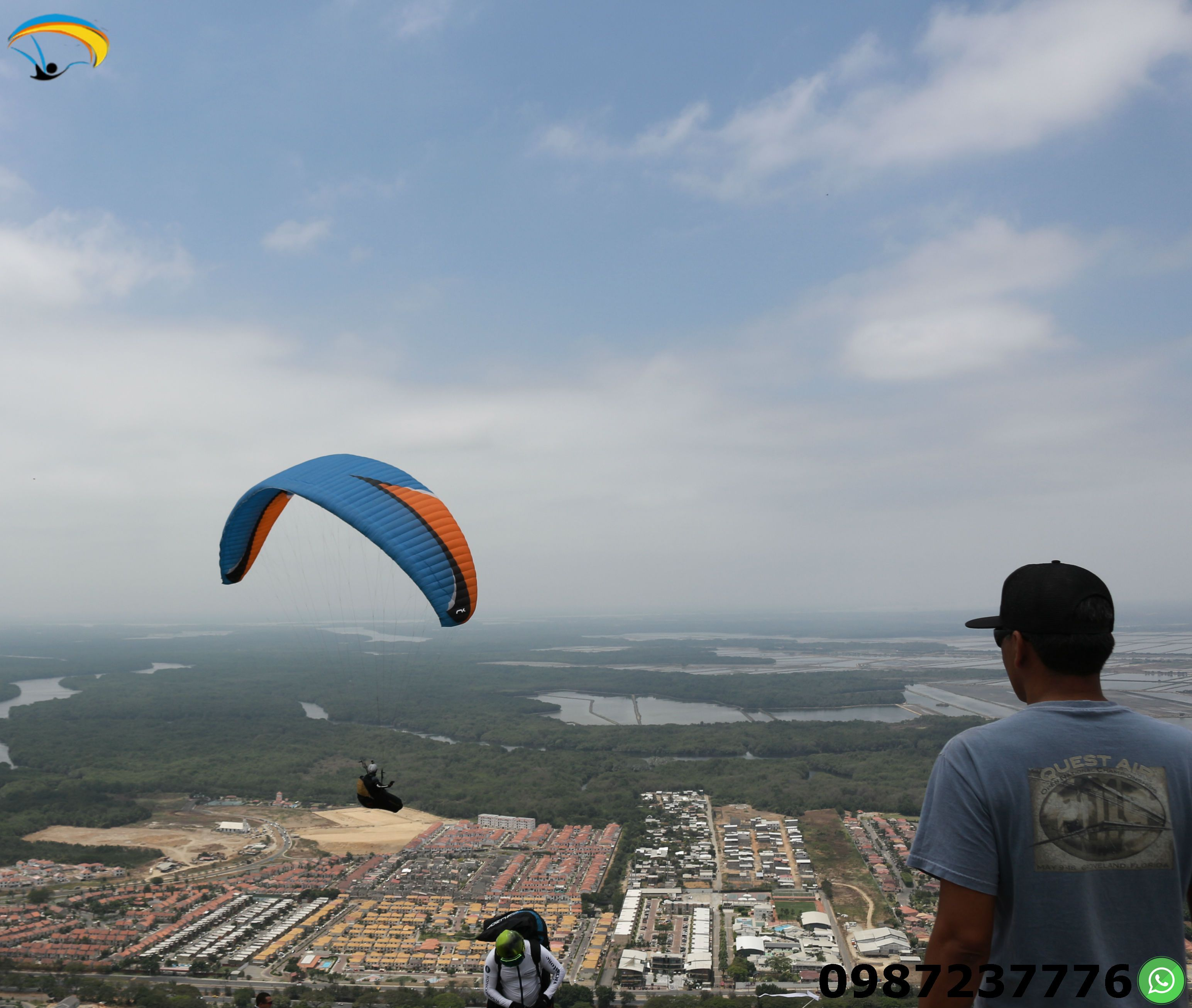 Paragliding Courses Guayaquil Ecuador You can learn this sport beginning with the first days after the theory and practice.