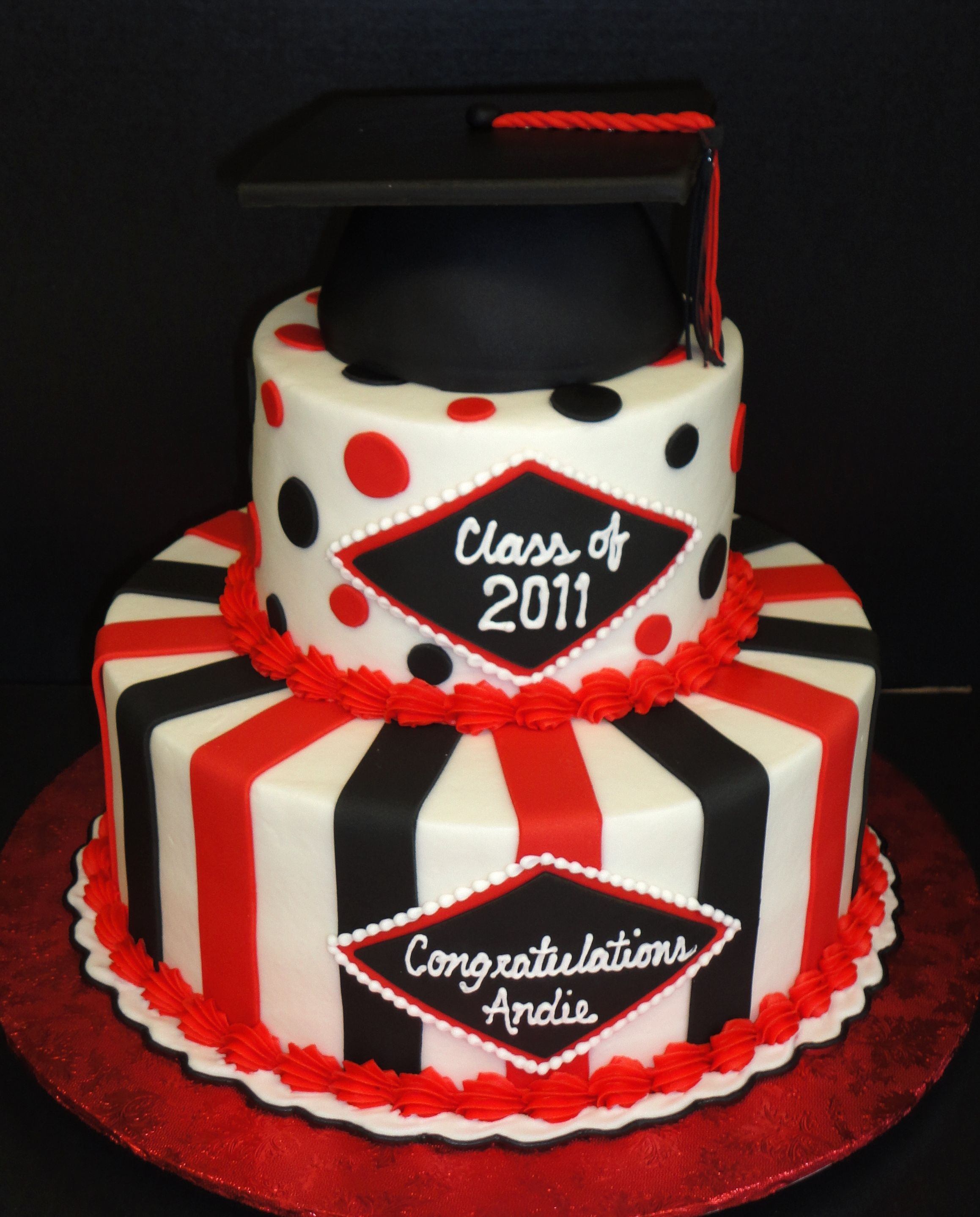 College Graduation Cakes on Pinterest Graduation Cake ...