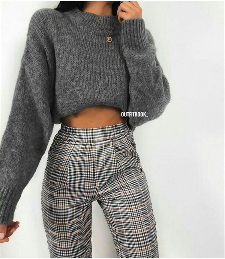 50 Chic And Casual Winter Outfits For Teen Girls Back To School | Women Fashion Lifestyle Blog Shinecoco.com – LIBRA SEOUL FASHION WEEK