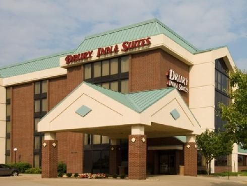 Champaign (IL) Drury Inn and Suites Champaign United States, North America Set in a prime location of Champaign (IL), Drury Inn and Suites Champaign puts everything the city has to offer just outside your doorstep. The hotel offers a wide range of amenities and perks to ensure you have a great time. Facilities like free Wi-Fi in all rooms, daily housekeeping, wheelchair accessible, 24-hour front desk, facilities for disabled guests are readily available for you to enjoy. Comfo...