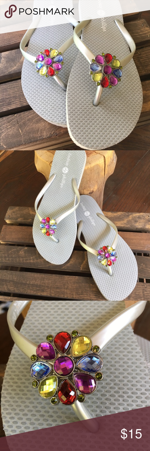 Lindsay Phillips flip flops Cute changeable flip flops