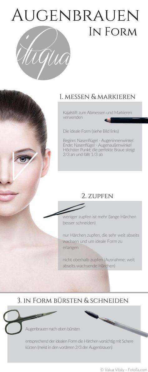 Paso a paso a su forma de ceja ideal. iluqua.com / …