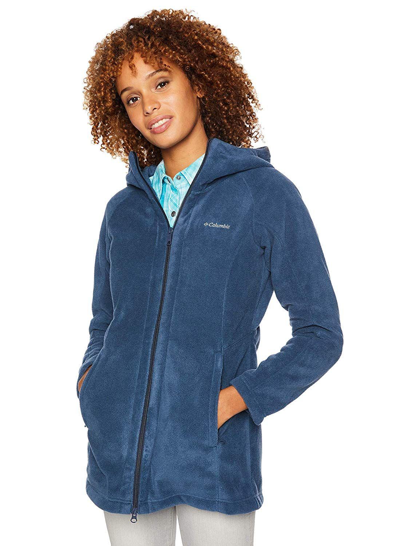 Columbia Womens Benton Springs II Long Hoodie Hooded Sweatshirt