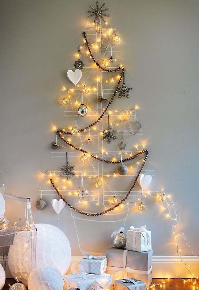 Arboles de Navidad diferentes Estilo Escandinavo Diferentes