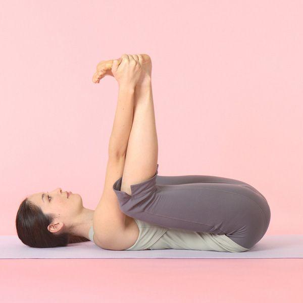 Ananda Balasana Exercise Happy Baby Pose Yoga Fitness