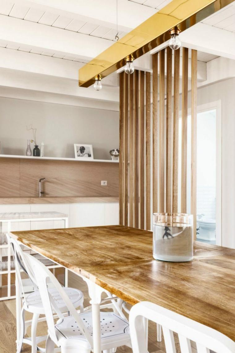 Holz Textur und Kontraste unter Ausnutzung des natürlichen Lichts | Haus