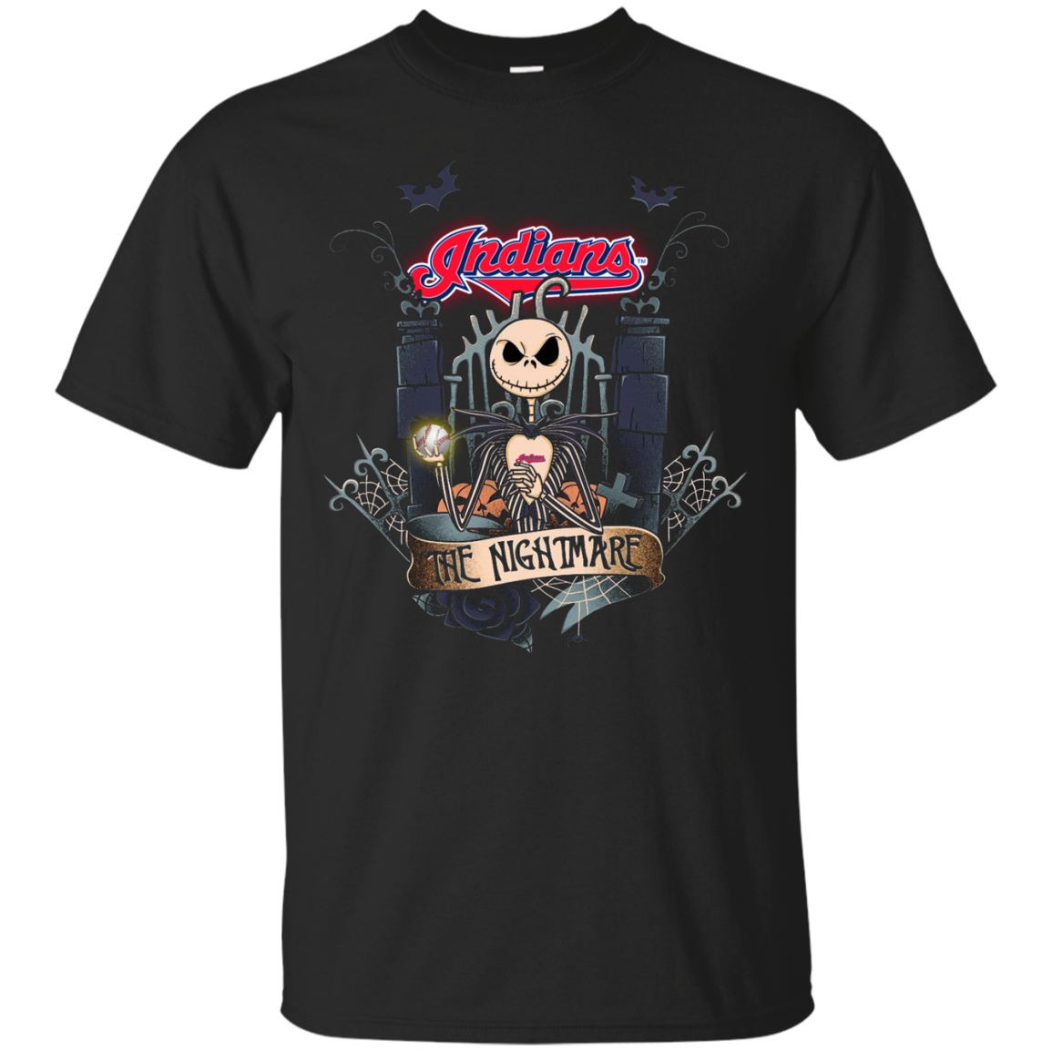 Halloween Cleveland Indians T shirts The Nightmare Hoodies