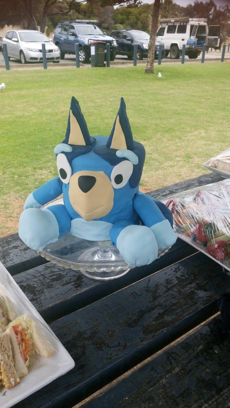 Bluey Australian Cartoon Dogs Birthday Cake Cake Inspo
