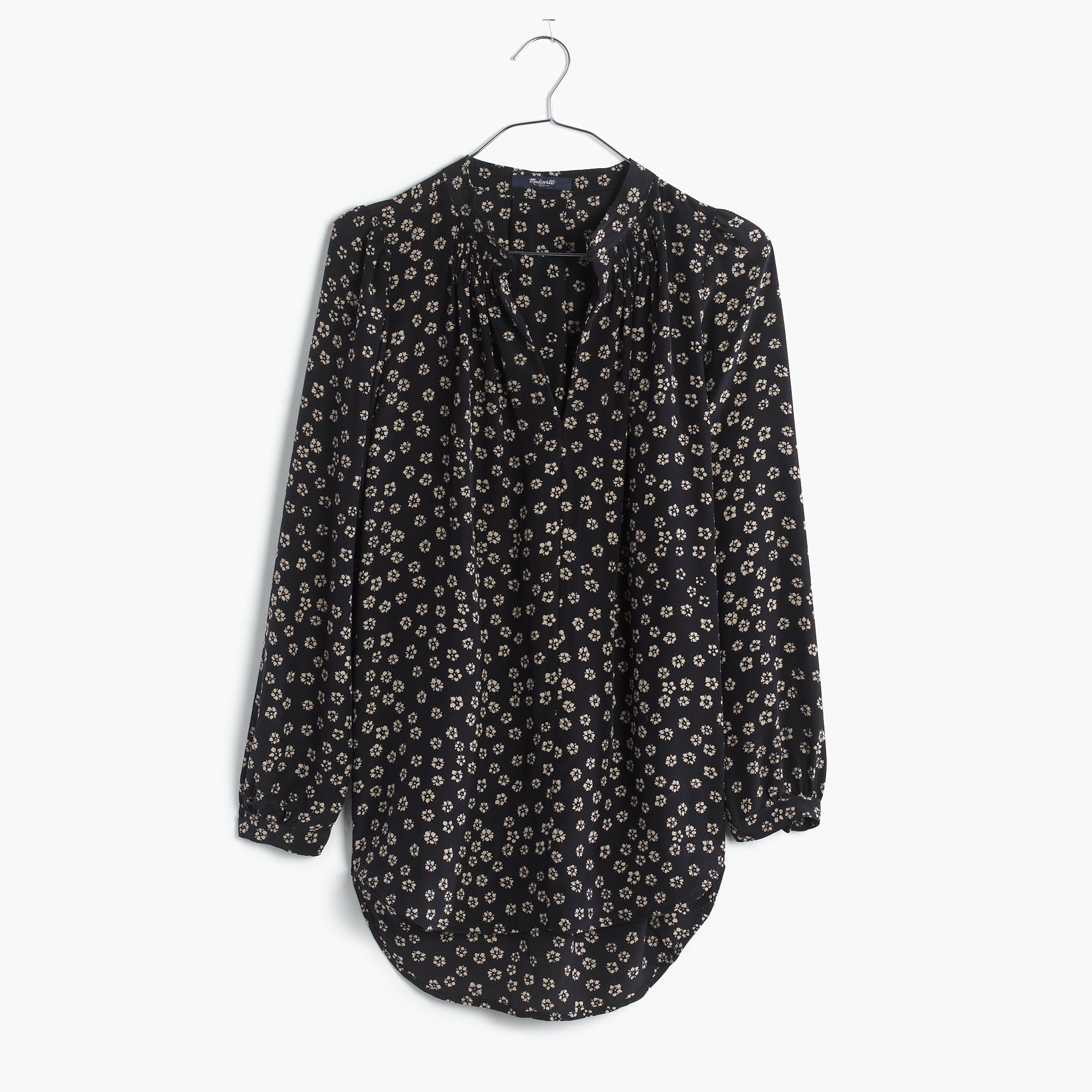 c152ef89121cce Silk Memory Blouse in Stencil Blossom : shirts & tops | Madewell ...