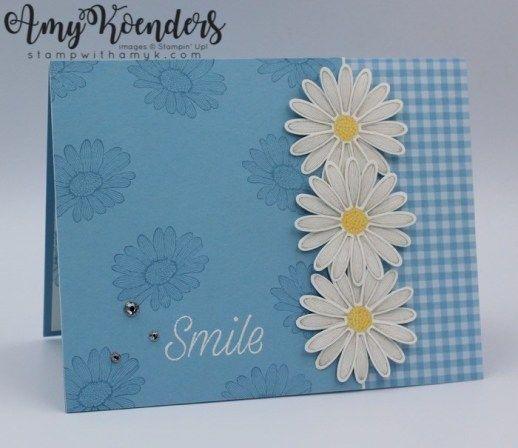 Stampin' Up! Daisy Lane Smile Card