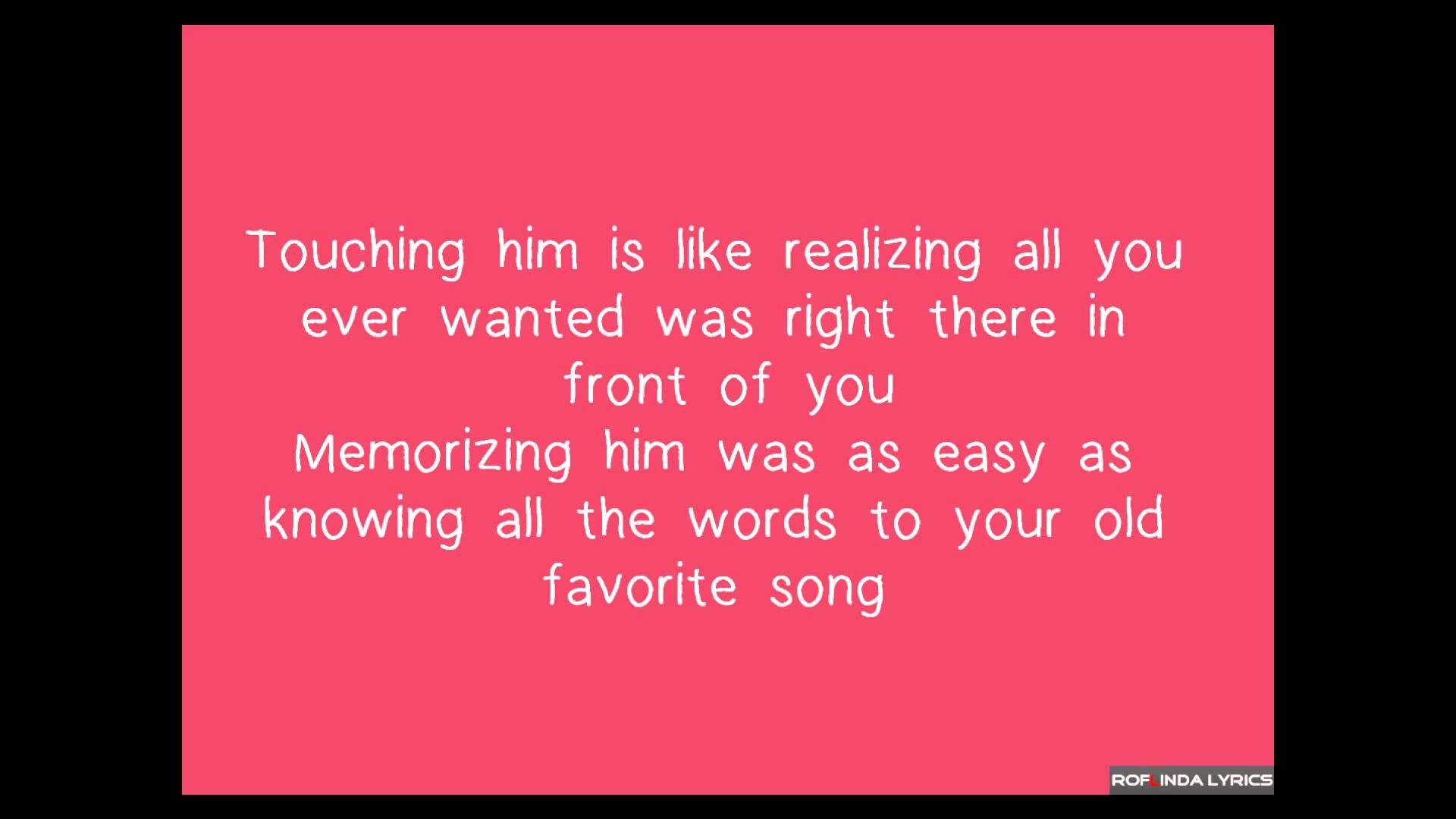 Taylor Swift - Red Lyrics | SONGS #MYALBUM | Pinterest ...